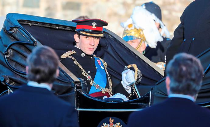 Josh O'Connor as Prince Charles in *The Crown.*