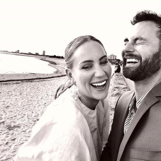 Cam and Jules are officially husband and wife!