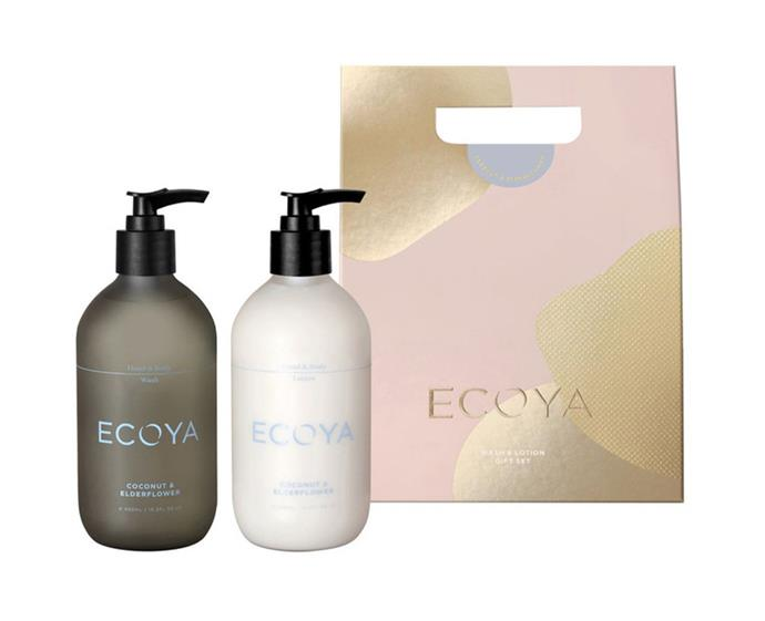 "**Ecoya Christmas Bodycare Gift Set, $39.95 at [Myer](https://www.myer.com.au/p/ecoya-christmas-bodycare-gift-set-coconut-elderflower|target=""_blank""