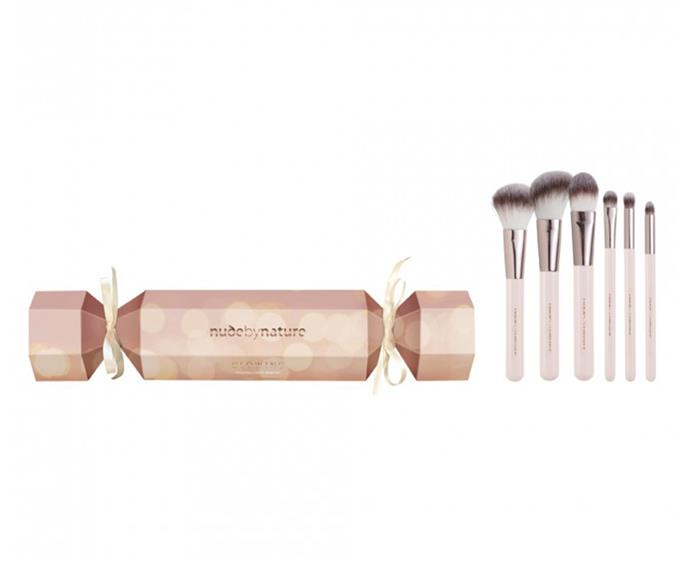 "**Nude by Nature Glowing Bon Bon set, $29.95 at [Priceline](https://www.priceline.com.au/nude-by-nature-glowing-bon-bon-6-piece|target=""_blank""