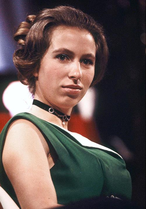 "In 1971, the Princess Royal attended the BAFTA awards wearing a chic moss green dress with a choker necklace. Two decades later, the bold accessory would make a serious comeback as a peak [1990s goth-gone-glam](https://www.nowtolove.com.au/fashion/fashion-news/friends-fashion-56256|target=""_blank"") staple."