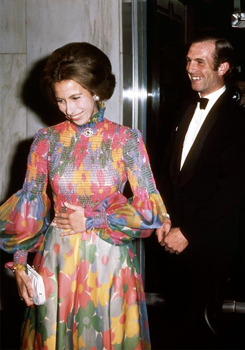 And in a moment that we can only describe as pure heaven, Princess Anne embraced one of the most iconic 1970s trends while attending a London film premiere - flower power!