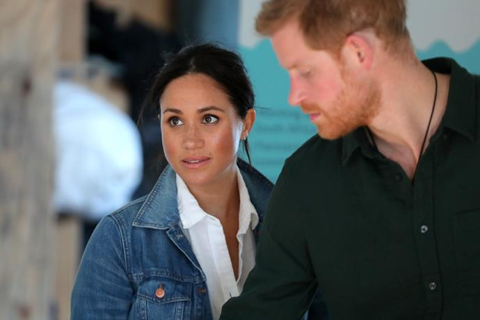 "Meghan and Harry were reportedly in a ""fragile place"" as the documentary aired."