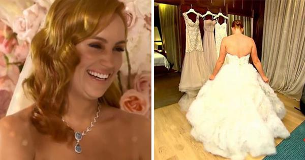 Jules Robinson ties the knot in Cinderella wedding dress | OK! Magazine