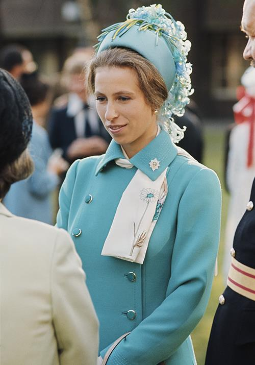 """**Princess Anne** <br><br> Princess Anne was a [princess bride in the 1973](https://www.nowtolove.com.au/royals/british-royal-family/prince-charles-princess-anne-feud-60301