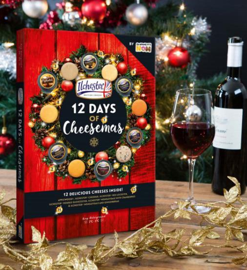 **Ilchester's 12 Days of Cheesemas Advent Calendar** <br><br> This is genius. Pour yourself a glass of wine and pop open a delicious cheese, as you cook dinner and wait for Christmas to officially arrive.  <br><br> $16.00 from Woolworths supermarkets.