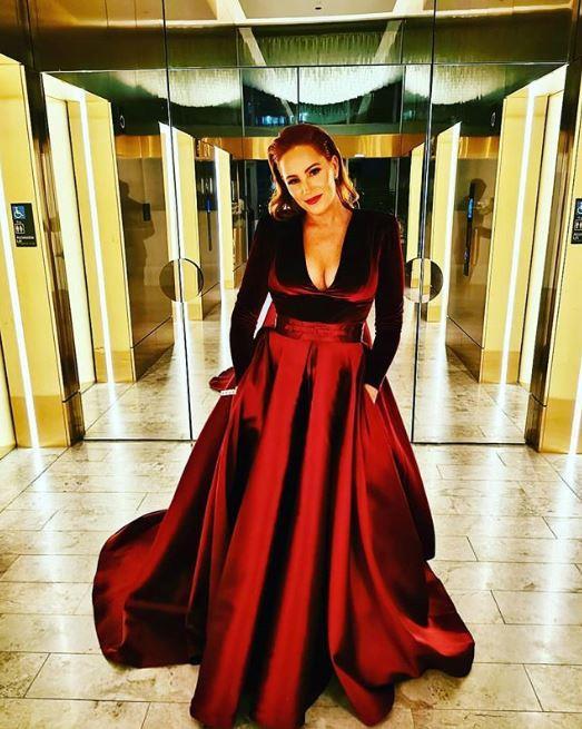 Jules at the 2019 TV WEEK Logie Awards.