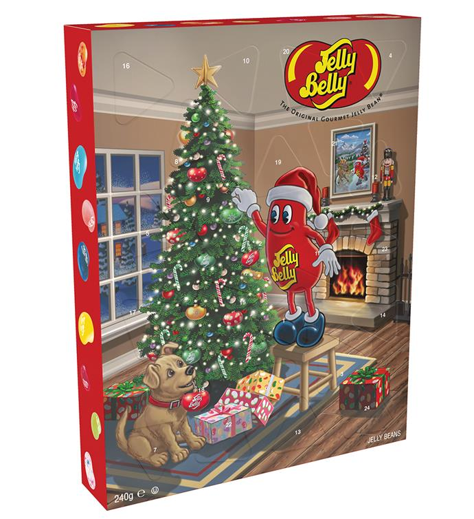 """**Jelly Belly Advent Calendar** <br><br> While you might technically find this in the """"kids"""" section, have you ever met an adult who doesn't get total nostalgia when talking about the iconic Jelly Belly sweets? You get to try a different flavour each day, so even if you land on a flavour that isn't quite to your taste, there's always tomorrow! <br><br> $30 from [Myer](https://www.myer.com.au/p/advent-calendar-240g-318486700