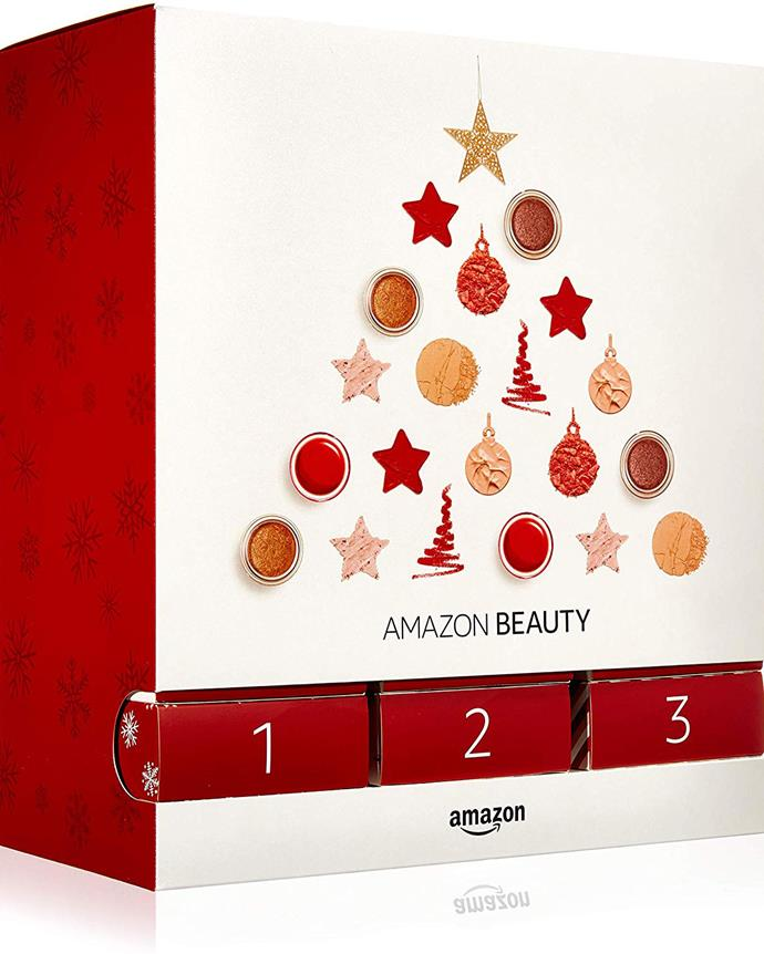 """**Amazon Beauty's 2019 Advent Calendar** <br><br> Perfect for the ultimate beauty lover, this calendar includes 24 beauty products worth a total of $400, including an OPI nail polish, an Olay face cream and sheet mask, Weleda's famous Skin Food moisturiser, Garnier micellar water, a Rimmel mascara and a Foreo Luna Play Facial Cleansing Brush (these cost $75 alone from Sephora!) <br><br> $120 from [Amazon](https://www.amazon.com.au/gp/product/B07VCQCK5T?pd_rd_w=6b1yZ&pf_rd_p=9e63b0db-04d7-4dc4-8c9d-95f1253f0820&pf_rd_r=1ZXJHBAH34P18HVZXG8B&pd_rd_r=8101a29c-4523-4ad8-b948-9698f709e36c&pd_rd_wg=oUQXV