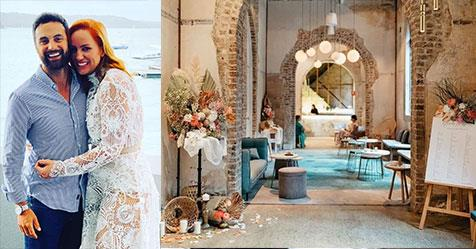 Inside Jules Robinson and Cam Merchant's wedding venue | Now To Love