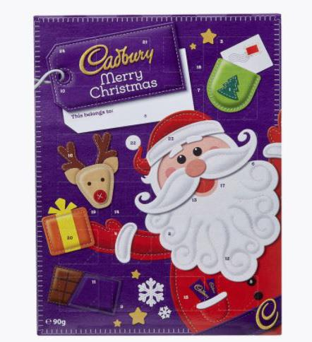 """**Cadbury Advent Calendar** <br><br> You can't go wrong with a classic Cadbury chocolate calendar. The biggest risk with this purchase will be making sure you don't race ahead and start eating the chocolate from days that haven't even arrived yet! We won't tell, if you don't.  <br><br> $6 from [Woolworths](https://www.woolworths.com.au/shop/productdetails/497322/cadbury-advent-calendar