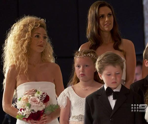 Cam and Jules' *MAFS* co-star and bridesmaid Heidi Latcham looked on fondly during the ceremony.