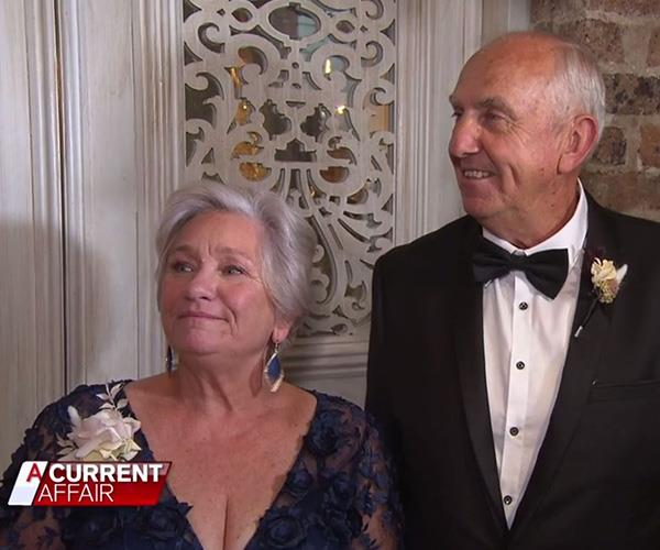 Meanwhile Jules' parents Eve and Peter looked emotional after the moving ceremony.
