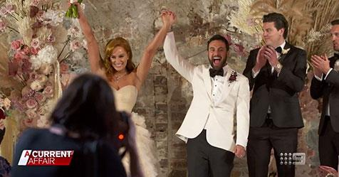 Married At First Sight's Cam and Jules' wedding guests | Woman's Day