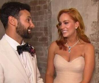 Cam and Jules tied the knot at Beta Bar in Sydney.
