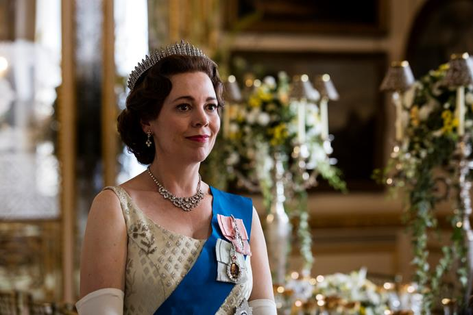 Olivia Colman is utterly regal.