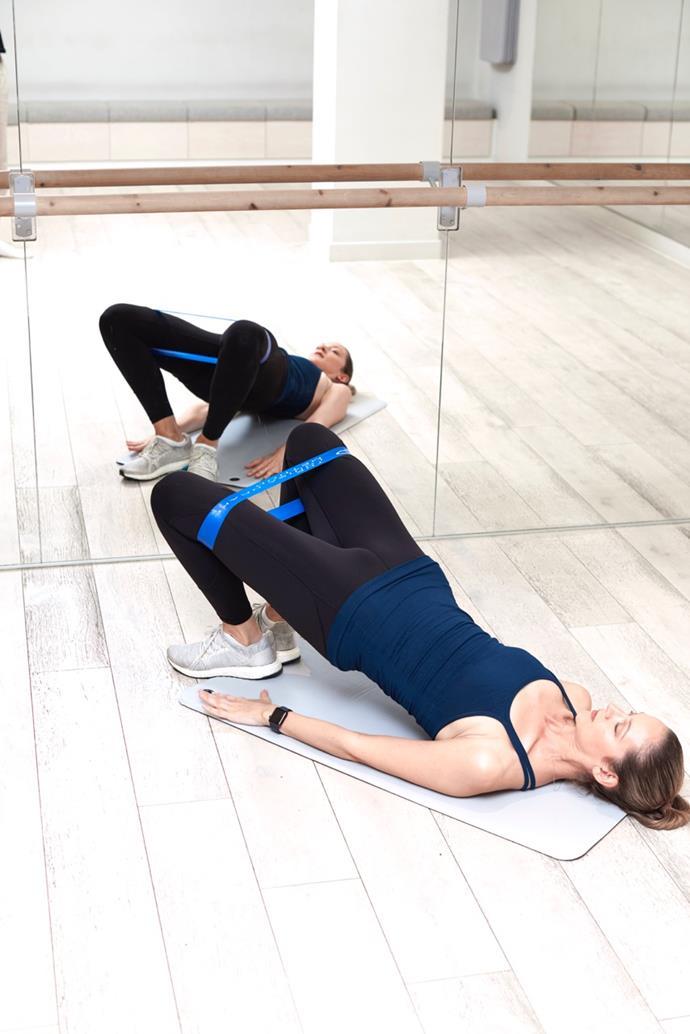 Alignment is key for Shoulder Bridge External Rotations