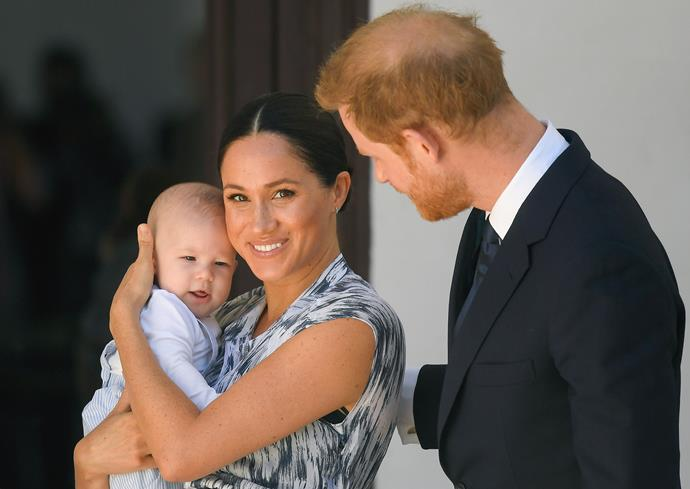 Archie ticked off a huge milestone when he accompanied Prince Harry and Duchess Meghan on their royal tour of Africa.