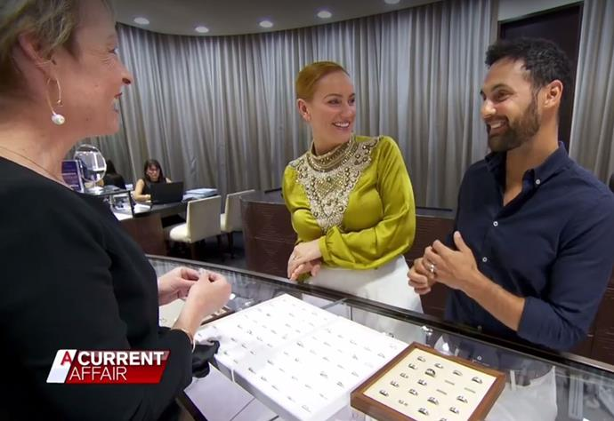 As the couple went ring shopping, Jules hinted that she'll soon be sporting a push present.