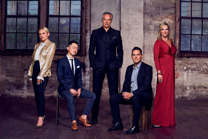 The cast of *Filthy, Rich & Homeless* season two.