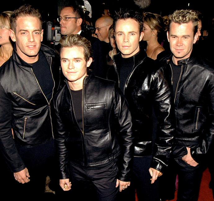 Human Nature pictured in 2001.