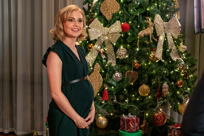 Rose McIver returns in the third *A Christmas Prince* movie.