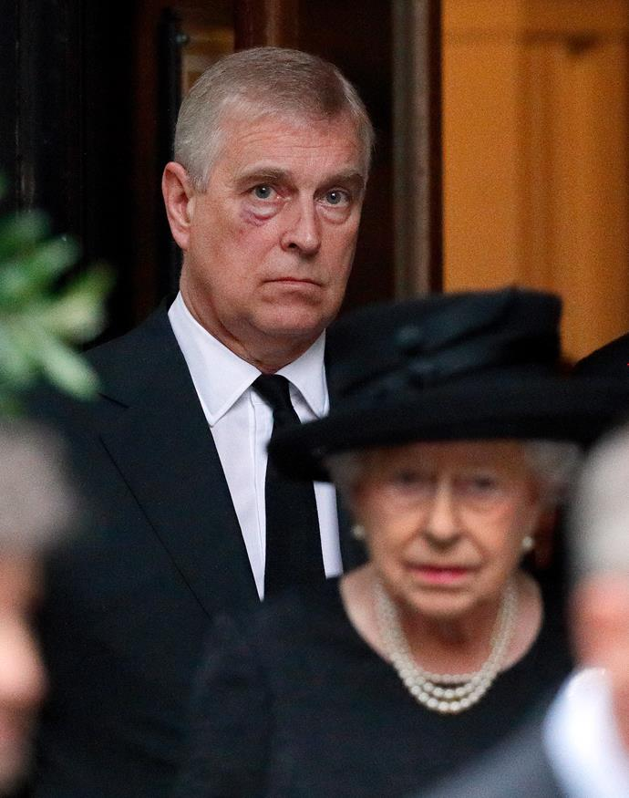 Prince Andrew has officially stepped back from his royal duties.