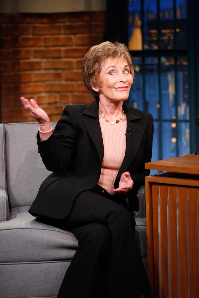 Judge Judy.