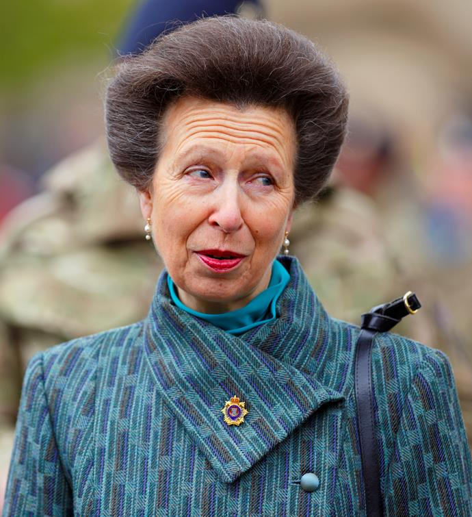 Princess Anne pictured in 2013.