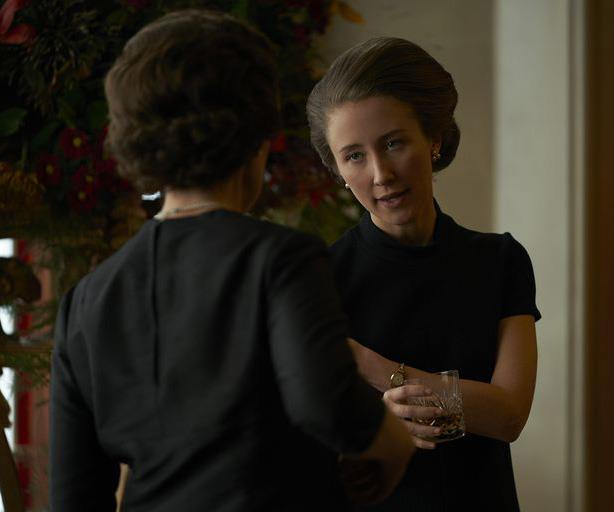 Erin Doherty as Princess Anne in season three of *The Crown*.