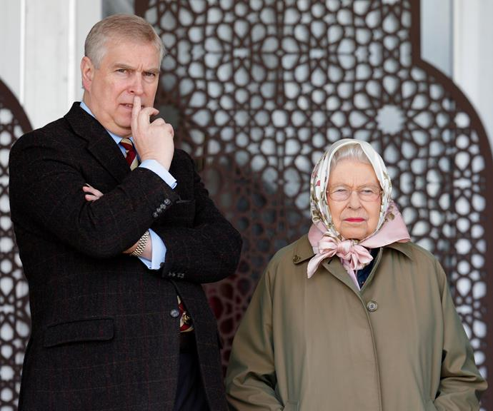 The Queen reportedly asked Prince Andrew to stand down from public duties.