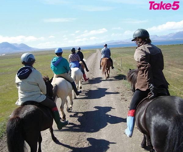 I joined 11 other riders from around the world.