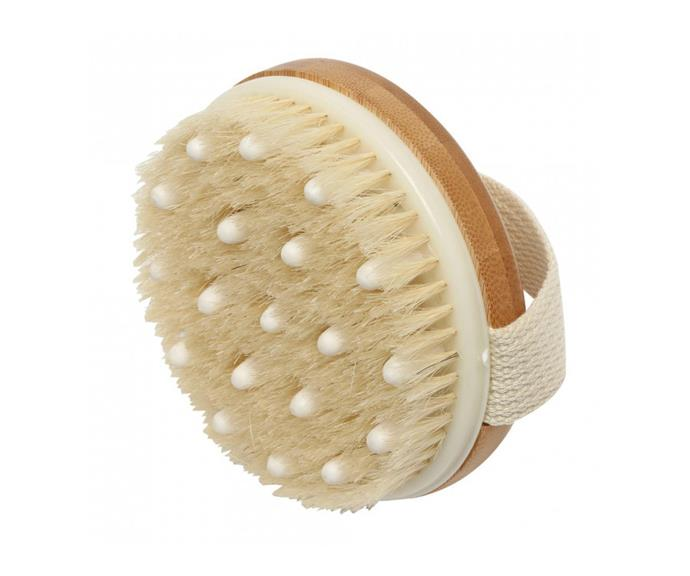 "Ecopure Bath Massaging Hand Brush, $13.99 at [Priceline](https://www.priceline.com.au/ecopure-bath-massaging-hand-brush-1-ea|target=""_blank""