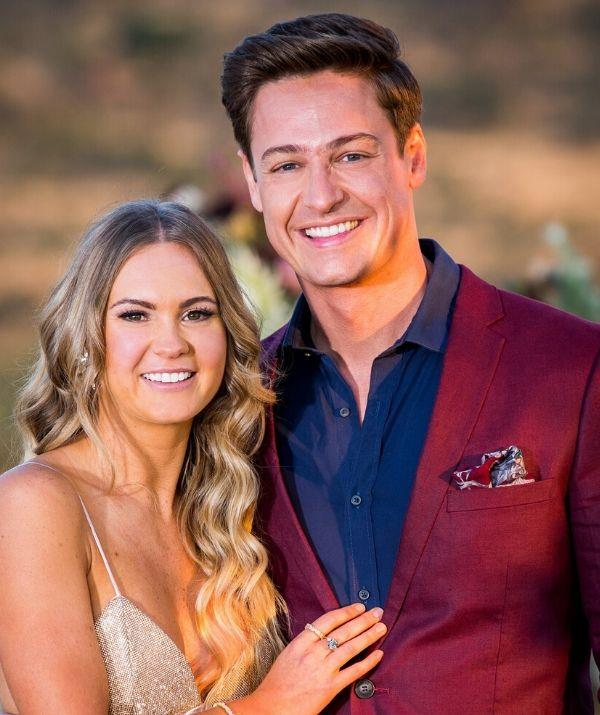 The reality star couple called it quits just two months after *The Bachelor* finale.