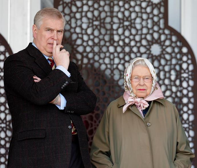 The Queen is likely less than pleased with Prince Andrew as his scandal escalates.