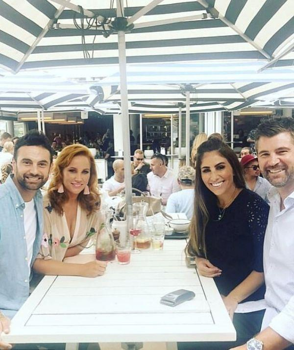 With *The Block* firmly in their sights, Cam and Jules started hanging out with past winners Sara and Hayden this year. The foursome regularly shared photos together - but we hear they're no longer as chummy!