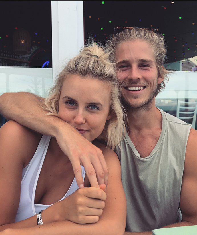 *The Loop* presenter Liv Phyland and former model and actor Nick Slater have sent the rumour mill into overdrive after publicly reconnecting.