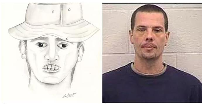 "Police somehow used this image to find Joseph Weir, who was convicted of bank robbery and sentenced to 32 years inside.  Image credit: [Buzzfeed(https://www.buzzfeed.com/patricksmith/the-27-worst-police-sketches-of-all-time|target=""_blank""