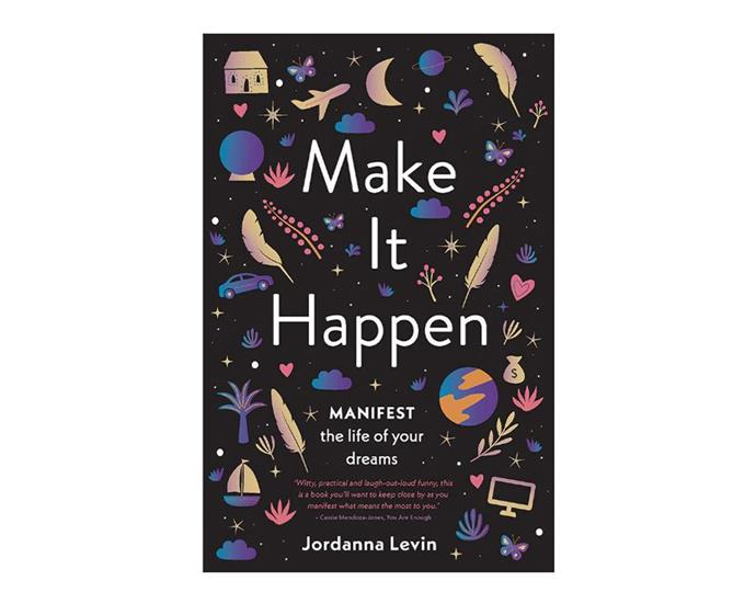 "**Make It Happen by Jordanna Levin, $22 at [Target](https://www.target.com.au/p/make-it-happen/62835992|target=""_blank""