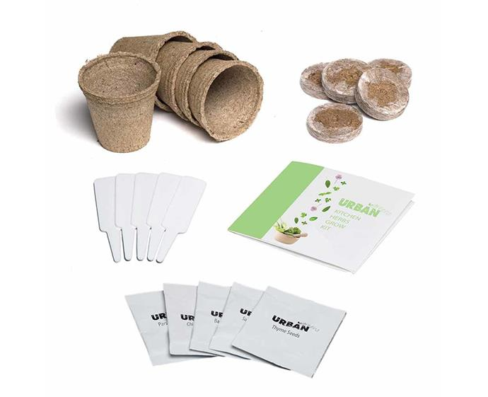 "**Urban Greens Kitchen Herbs Grow Kit, $24.95 at [Flora & Fauna](https://www.floraandfauna.com.au/catalog/product/view/id/22557/s/urban-greens-kitchen-herbs-grow-kit/category/1269/|target=""_blank""