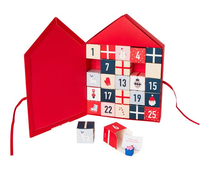 "**Eraser Advent Calendar, $29.99 at [Kikki K](https://www.kikki-k.com/au/christmas/advent-calendars/eraser-advent-calendar-nordic-poppy-red-christmas-11504901.html?cgid=gifts-advent_calendars#start=3|target=""_blank""