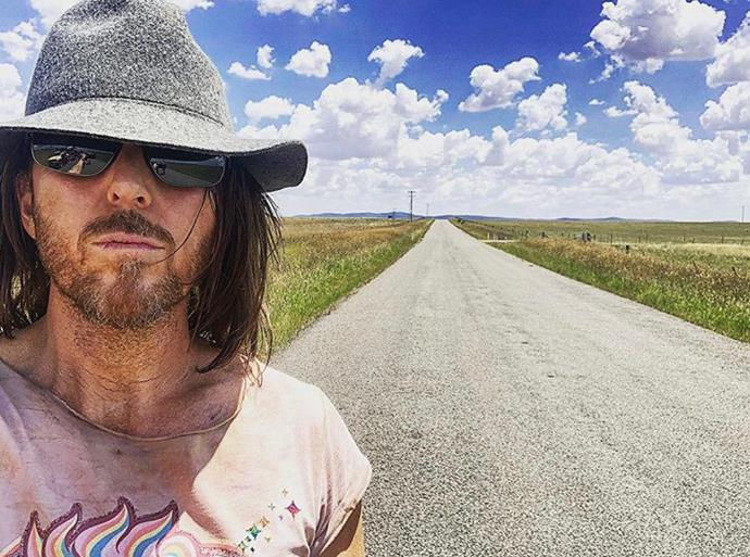 Minchin posted a photo whilst filming in Goulburn earlier this year.
