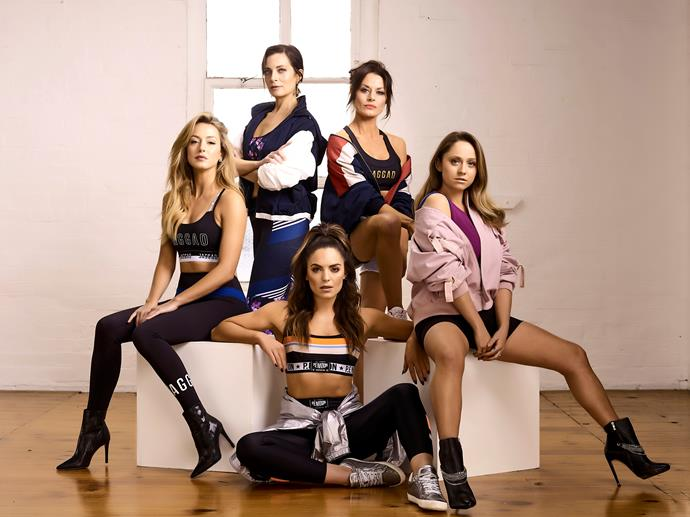 Clockwise from top: Playing For Keeps' Annie Maynard,  Madeleine West, Cece Peters, Olympia and Isabella Giovinazzo.
