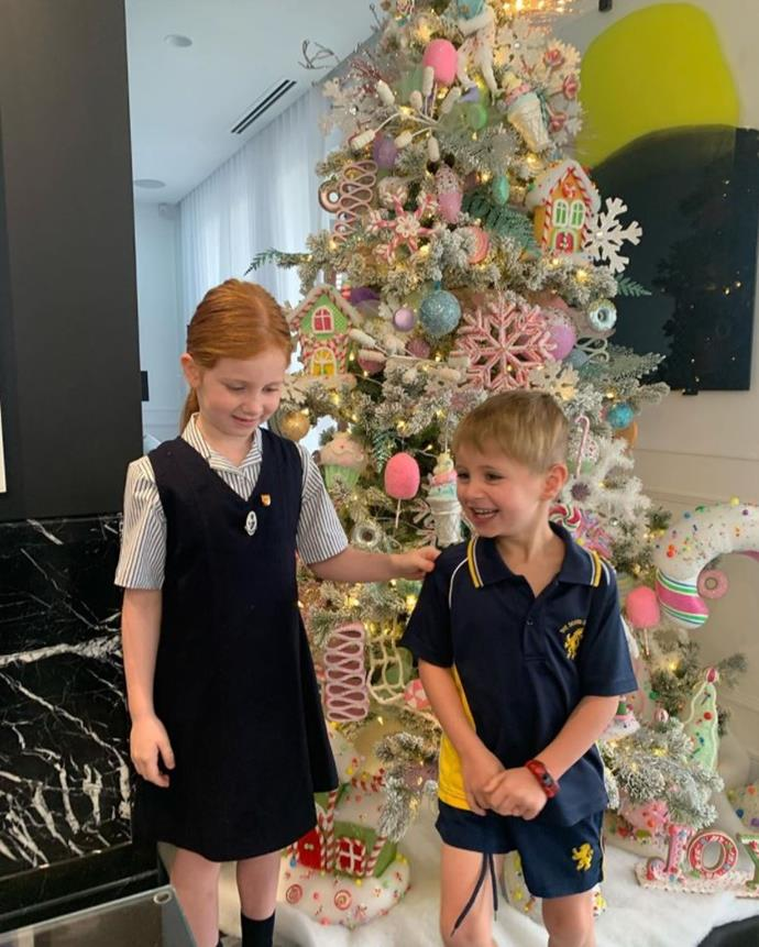 We always knew PR maven Roxy Jacenko would have a cracker of a Christmas tree.