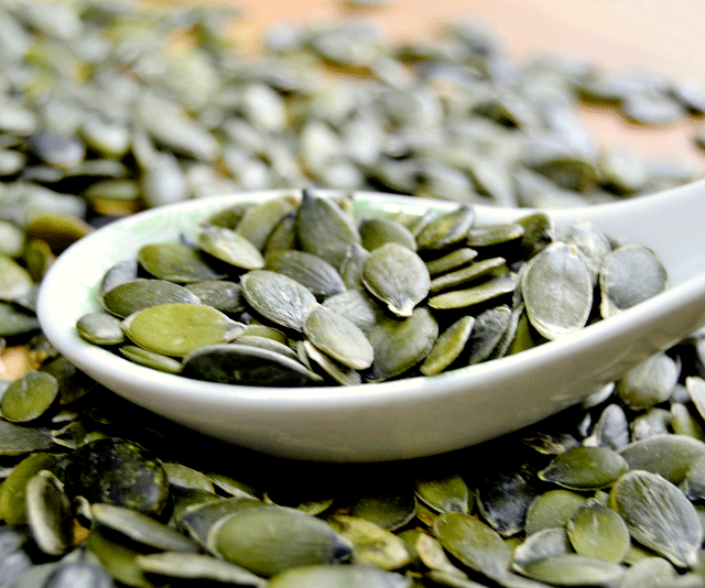 """***Pumpkin seed spread:*** Since nuts are still banned from schools, try your hand at making pumpkin seed butter, simply by roasting and then processing pumpkin seeds until an oily paste is created. *Find the recipe [HERE](https://www.eatingvibrantly.com/pumpkin-seed-butter/