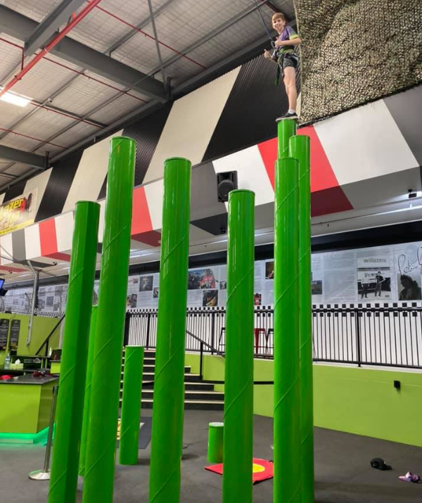 "**Game Over, Gold Coast:** A two hour power pack let's you try clipped-climbing, go karting AND laser tag. If your kid pulls an ""I'm bored!"" after all of that, then you could always try the zip line."