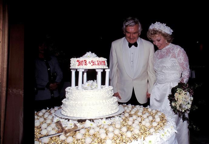 Marrying Blanche in 1995 in Sydney, Australia.