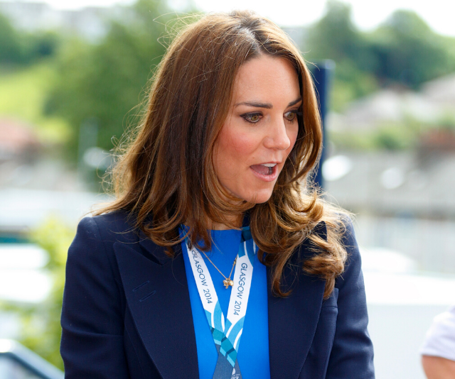 We wonder what Kate thought about all of this?!