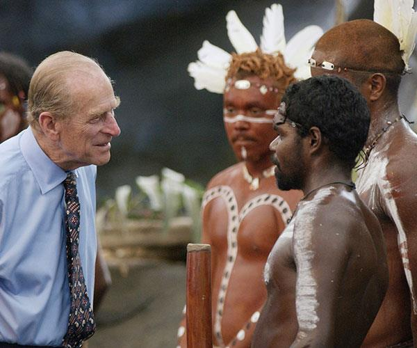 "**Oops…he did it again!** <br><br> It seems every time Prince Phillip opens his mouth, there's a royal scandal in the making.  <br><br> The Queen's husband is notorious for lacking her diplomacy skills and constantly gets caught making inappropriate and racist comments.  <br><br> On a visit Down Under in 2002 he asked a group of Indigenous Australians, ""Do you still throw spears at each other?""  <br><br> During an appearance at a hospital in Dunstable, a small town in England, the prince sensationally remarked to the nursing staff, ""The Philippines must be half-empty – you're all here running the NHS.""  <br><br> And when a 13-year-old boy told of his dream of becoming an astronaut, the rude royal responded, ""You could do with losing a little bit of weight.""  <br><br> We suspect Liz breathed a sigh of relief when Phillip officially retired from formal duties in 2017."