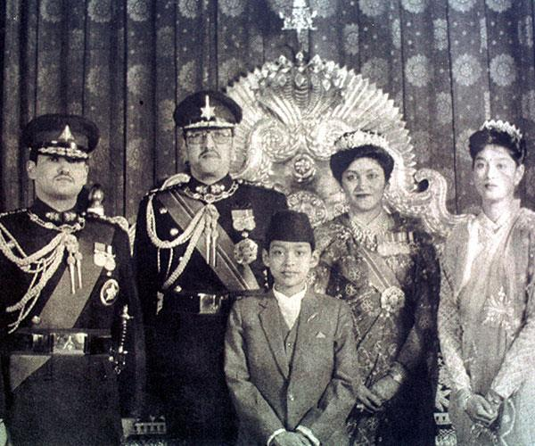 **Nepalese royal family**  <br><br> During a monthly reunion dinner of the Nepalese royal family, Crown Prince Dipendra opened fire and shot his relatives.  <br><br> Twelve dignitaries were killed, including King Birendra, before the Crown Prince turned the gun on himself. <br><br> Since he was next in the line of succession, Dipendra was crowned as the new king, while he lay in hospital in a coma. He never regained consciousness and his life support was turned off.  <br><br> The attack was in retaliation after he was unable to marry the woman he loved, Devyani Rana.